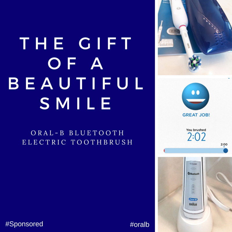 Give The Gift Of A Healthy and Beautiful Smile #oralb #Spon