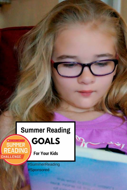 Setting Your Summer Reading Challenge Goals #SummerReading #spon