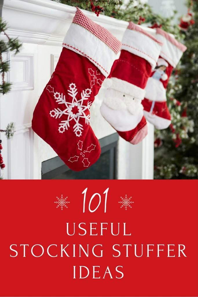 101 Useful Stocking Stuffer Ideas #GiftGuide