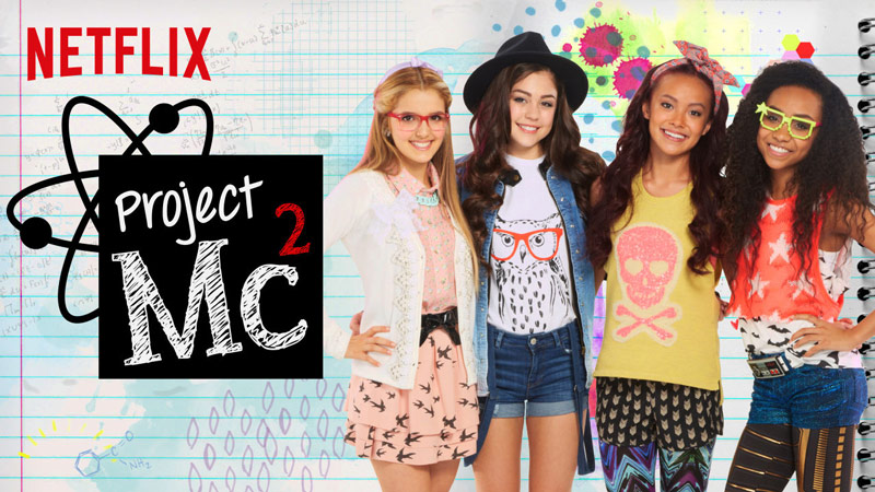 Project Mc2 on Netflix Episode #103, Smart is the New Cool to discuss Teamwork with tweens #StreamTeam