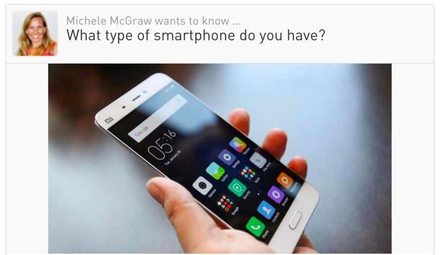 What type of smartphone are you using?