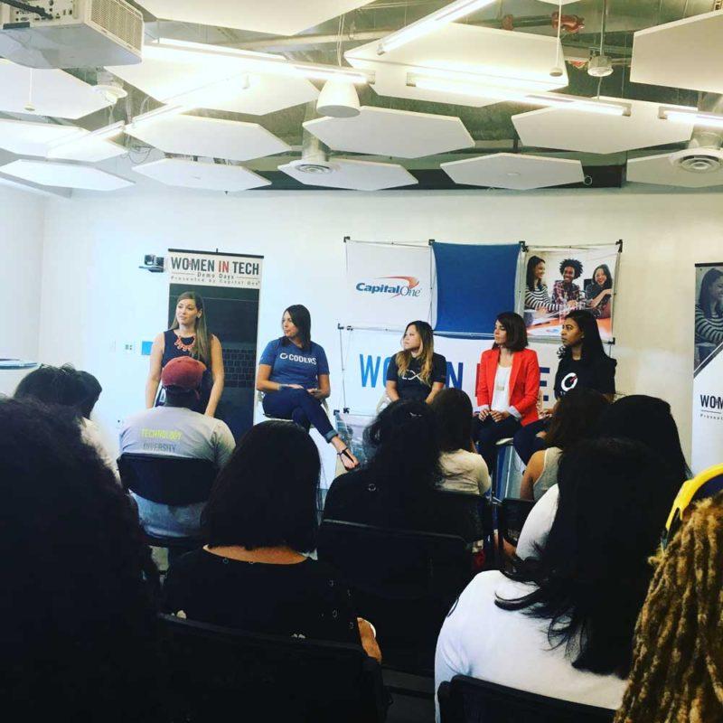 women in tech navigating the tech field #WITDemoDay