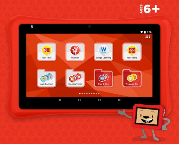Nabi SE tablet for kids