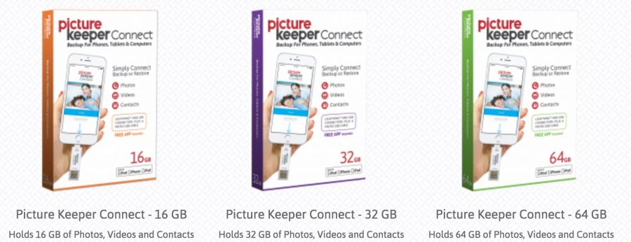 Picture Keeper Connect for backing up photos from your smartphone.
