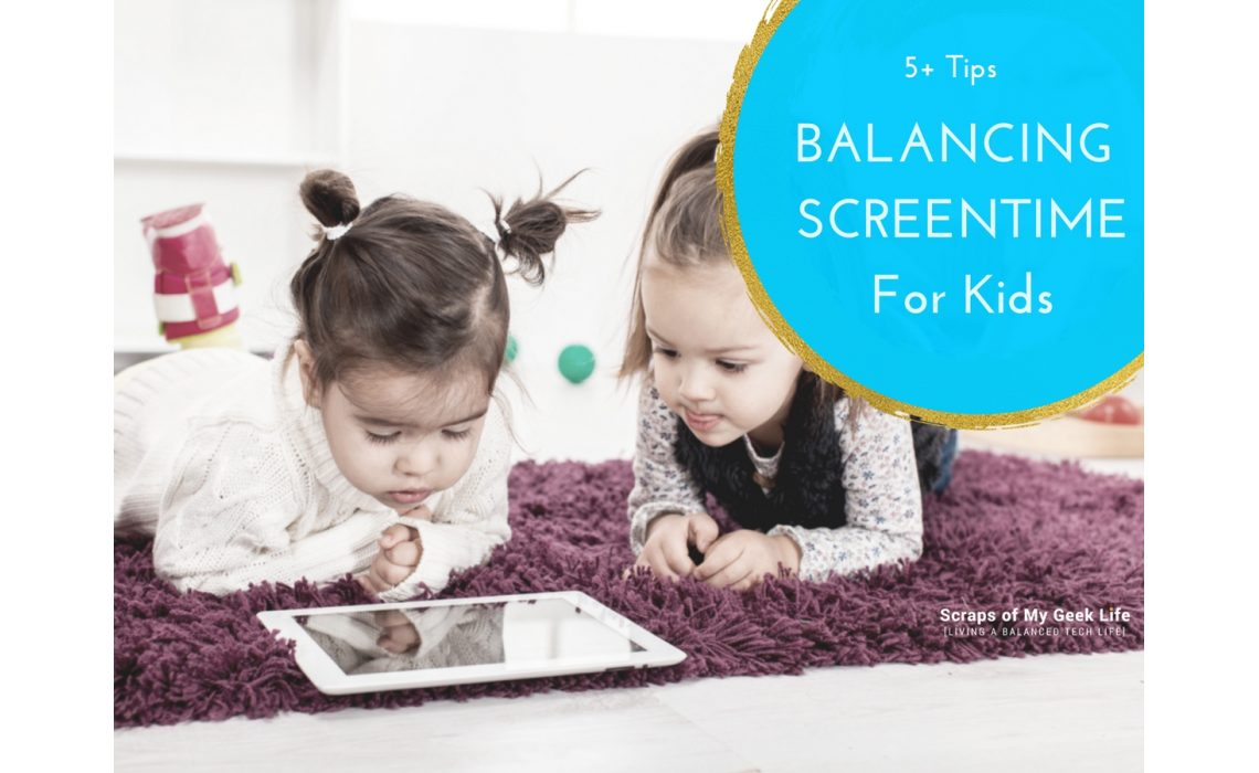 Looking for way to teach your kids to balance screen time? Technology is not going anywhere. Banning it isn't the answer. As parents, we need to teach our children how to use technology wisely. Technology needs to be balanced with all aspects of our lives. Screen Time Labs is a tool for you, the parents to help you teach your kids to balance screen time. Click below to read my 5+ tips for balancing screen time with kids. Share your tips for balancing screen time in your home. #sponsored #screentimelabs #technology #parentingtips #parentingapp