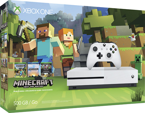 @Minecraft at @BestBuy for game play both online and offline