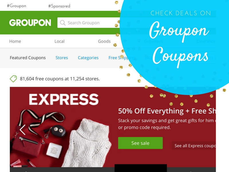 Groupon Coupons have offers from your favorite stores. #GrouponCoupons