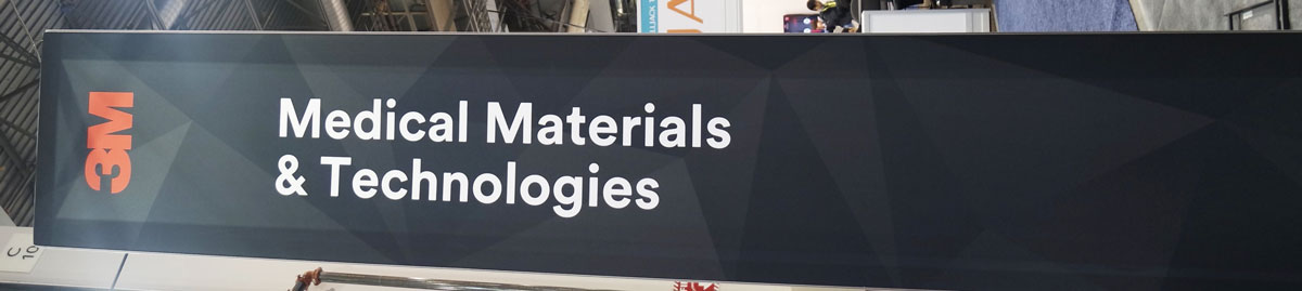 3M Company booth at CES 2017