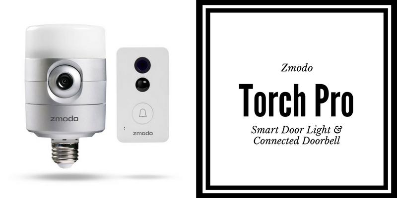 Zmodo Torch Pro includes smart door light and connected doorbell. #CES2017