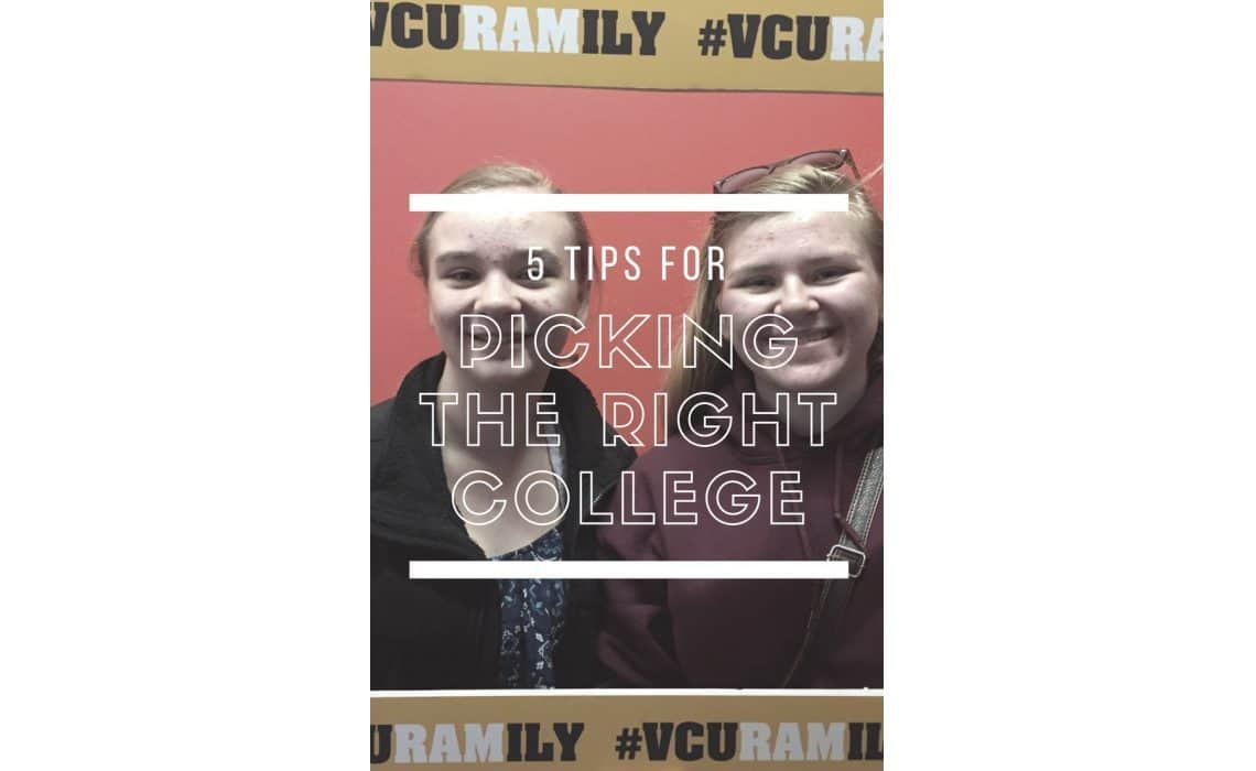 5 Tips For Picking The Right College