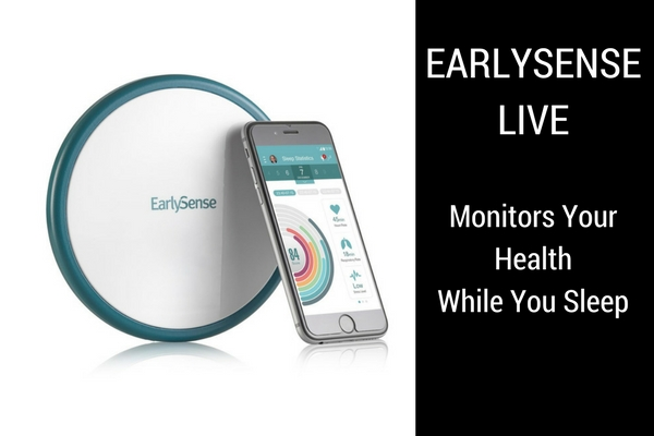 EarlySense Live monitors your health while you sleep #EARLYSENSELIVE