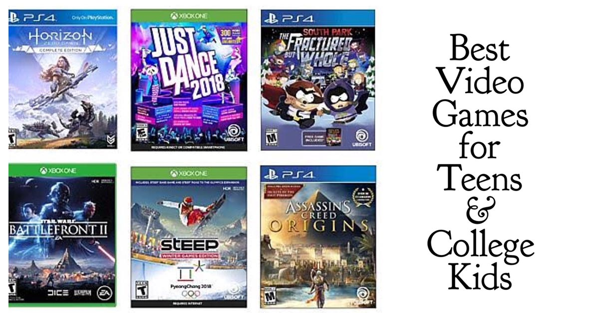 Video Games For Teens And College Kids Gift Guide 2017 Scraps Of My Geek Life